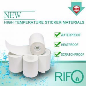 Rifo Eco Friendly High Temperature Beskytt Tags Etiketter Råmaterialer